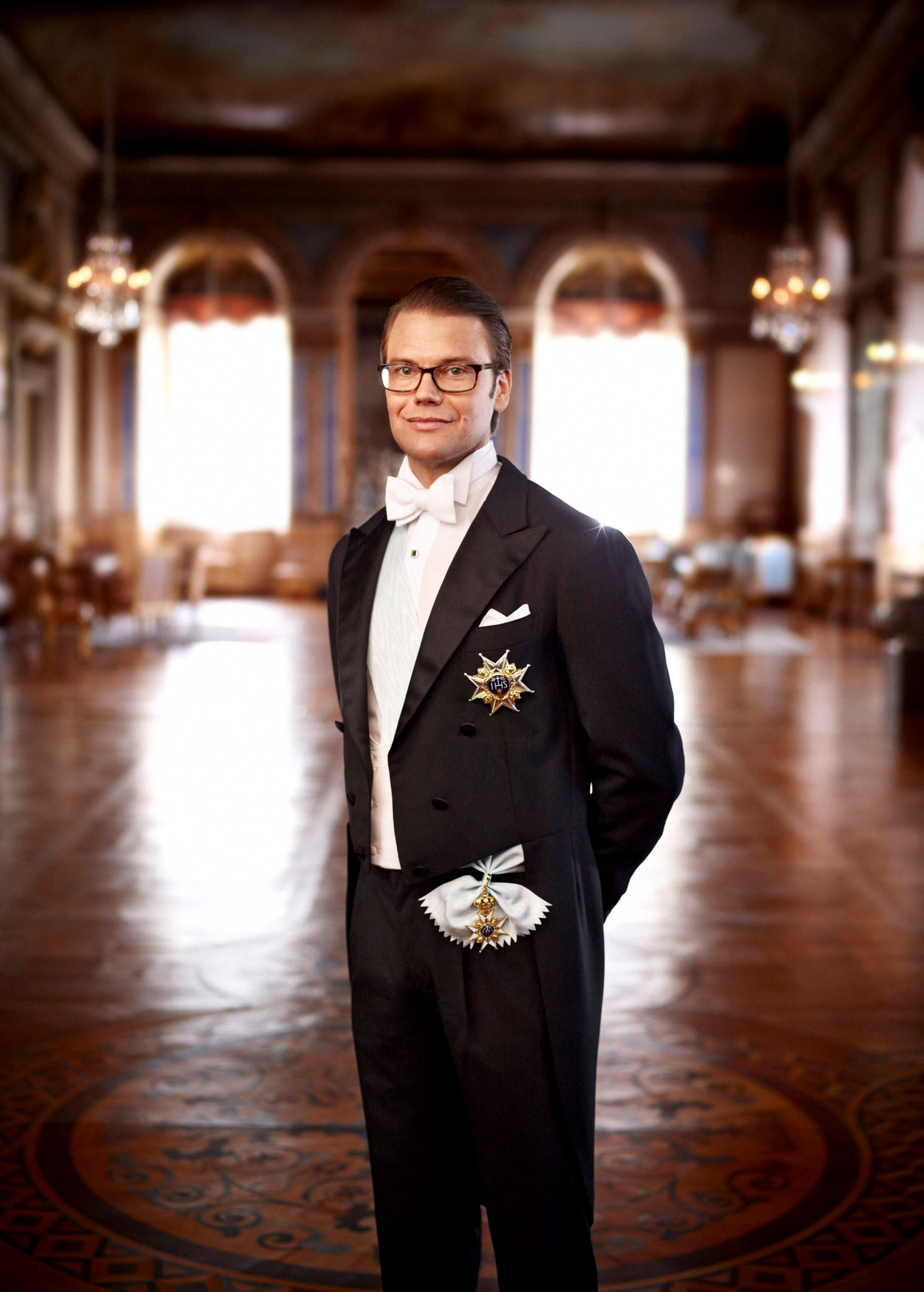 His Highness Prince Daniel patron of Swedish basketball