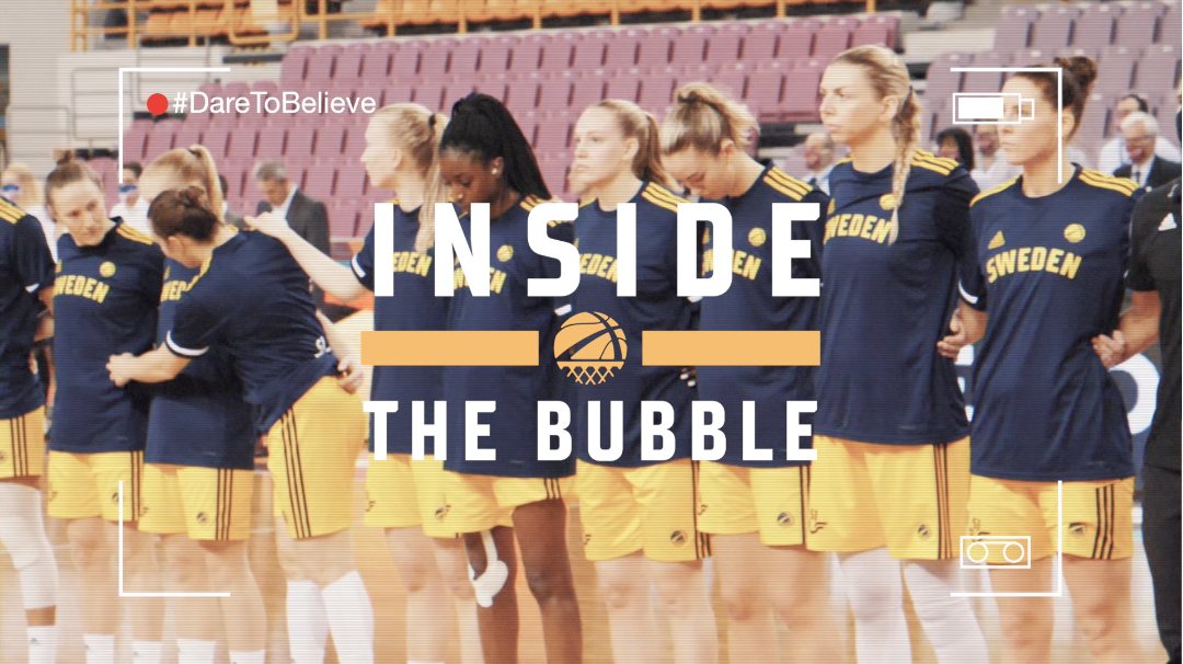 Inside The Bubble: Gameday mot Israel